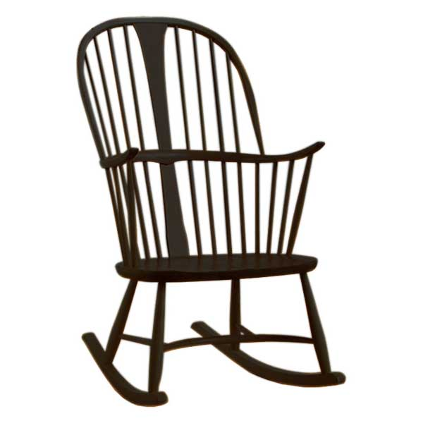 Ercol Chairmakers Rocking Chair Coloured Finish Choice
