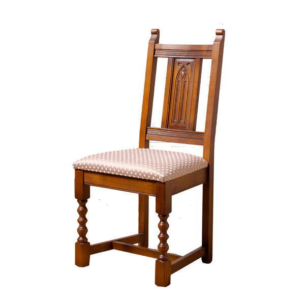 Old Charm Dining Chair IN Hide Choice Furniture