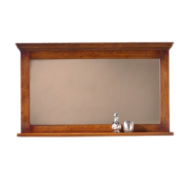 Old Charm Large Mirror With Shelf Choice Furniture