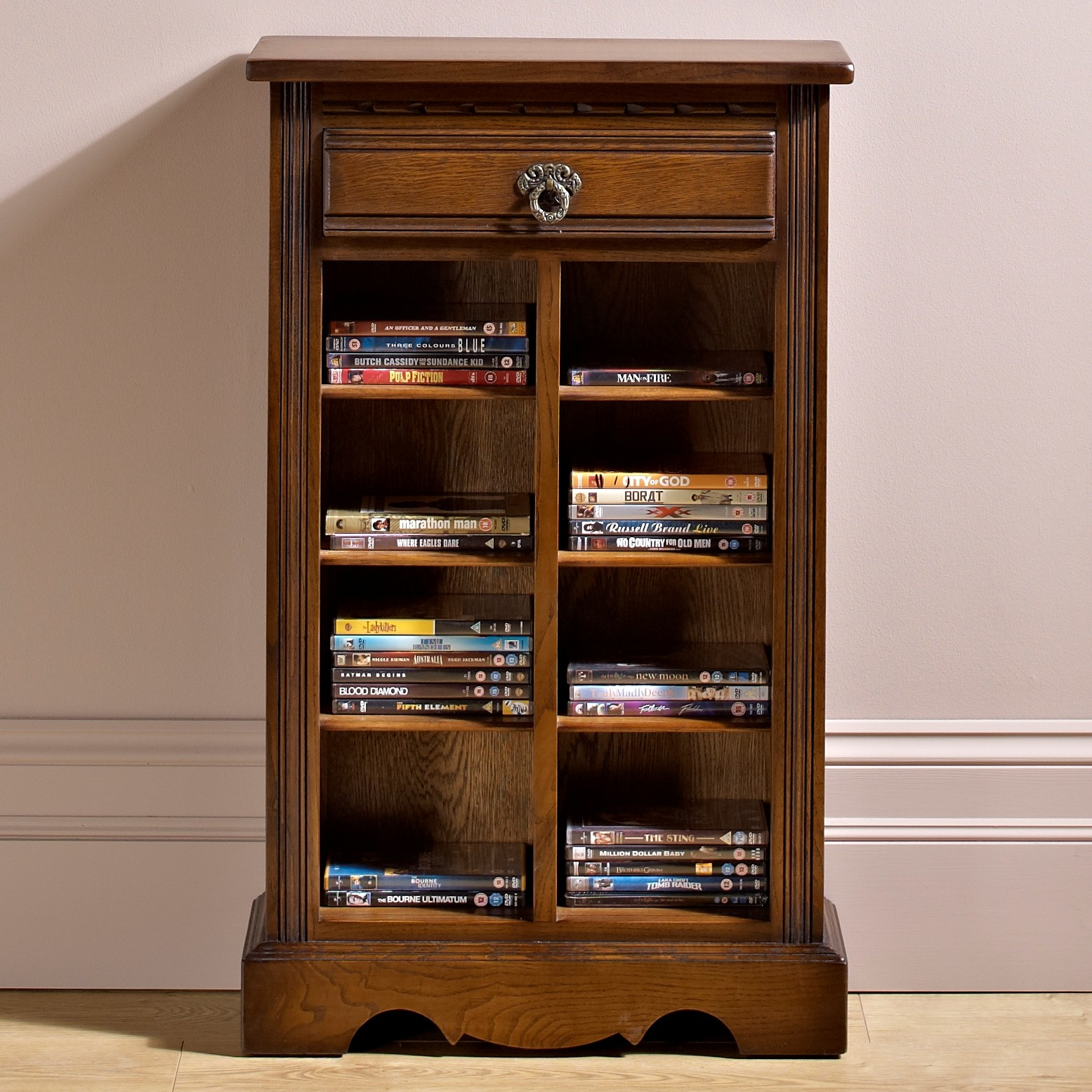 Old Charm Dvd Cd Storage Unit Choice Furniture