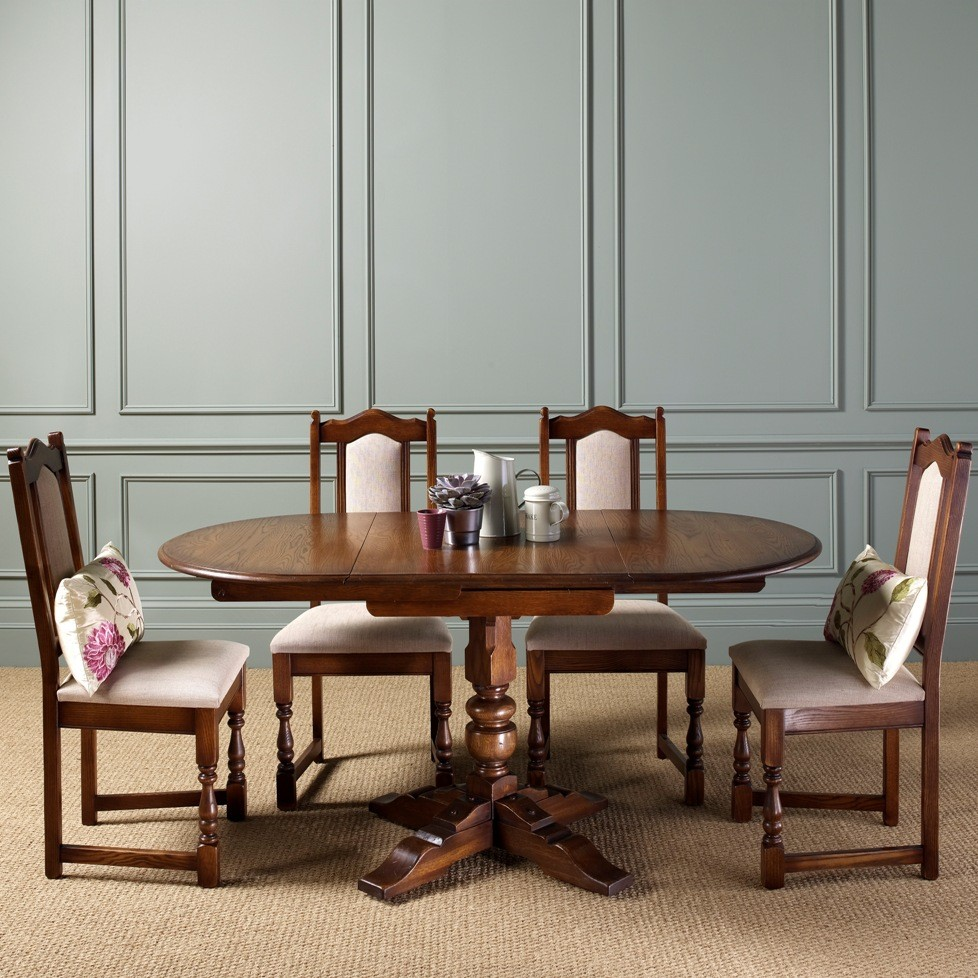 Old Charm Amberley Drop Leaf Dining Table Choice Furniture