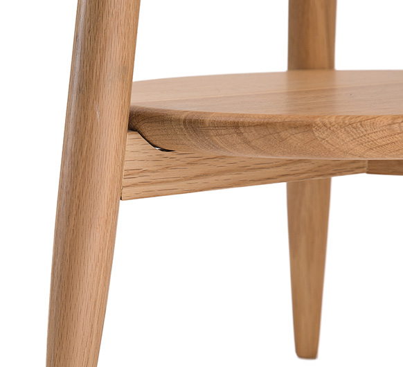Ercol Oval Coffee Table: Ercol Teramo Side Table