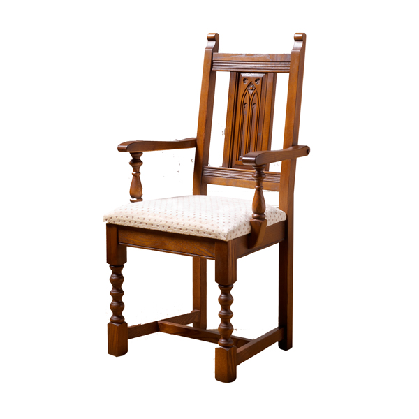 Wood Bros. Carver Dining Chair | Choice Furniture
