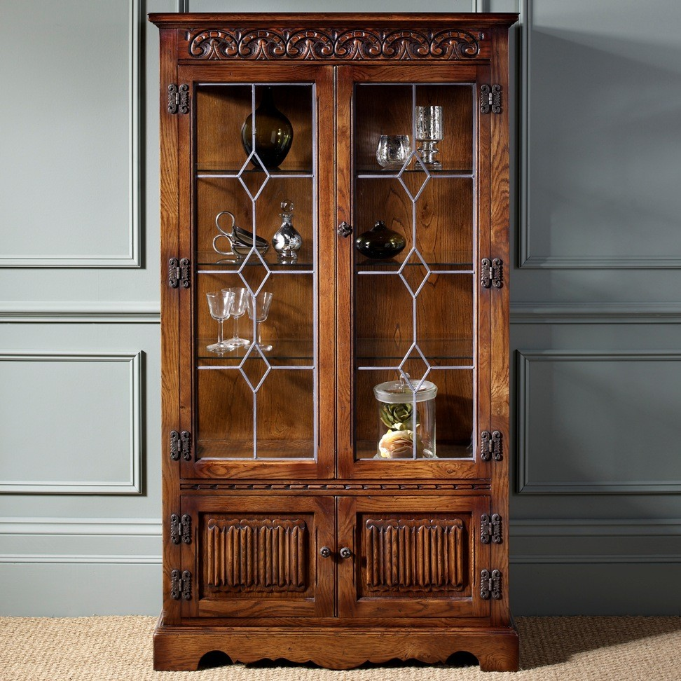 Wood Bros. Display Cabinet