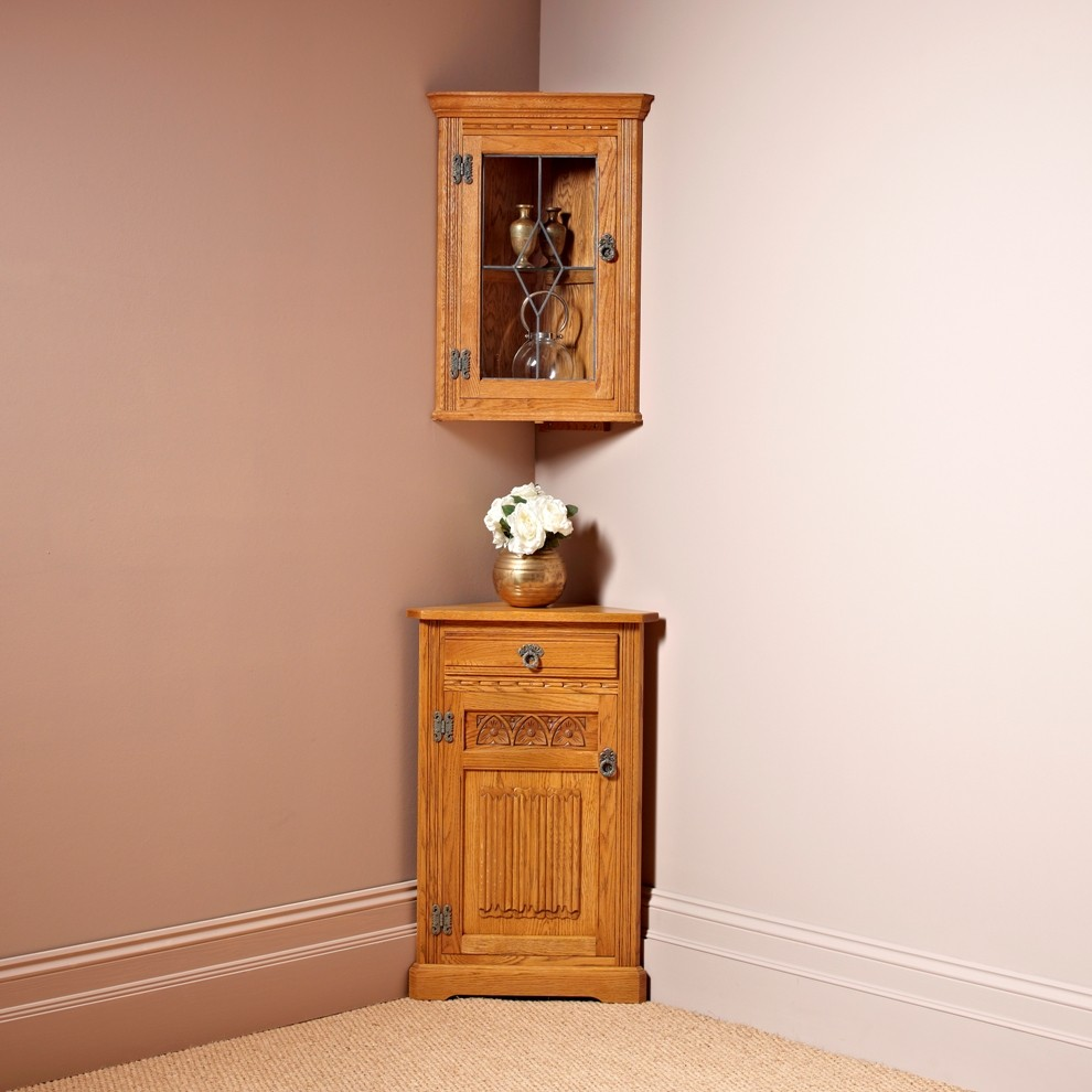 Wood Bros. Low Corner Cabinet