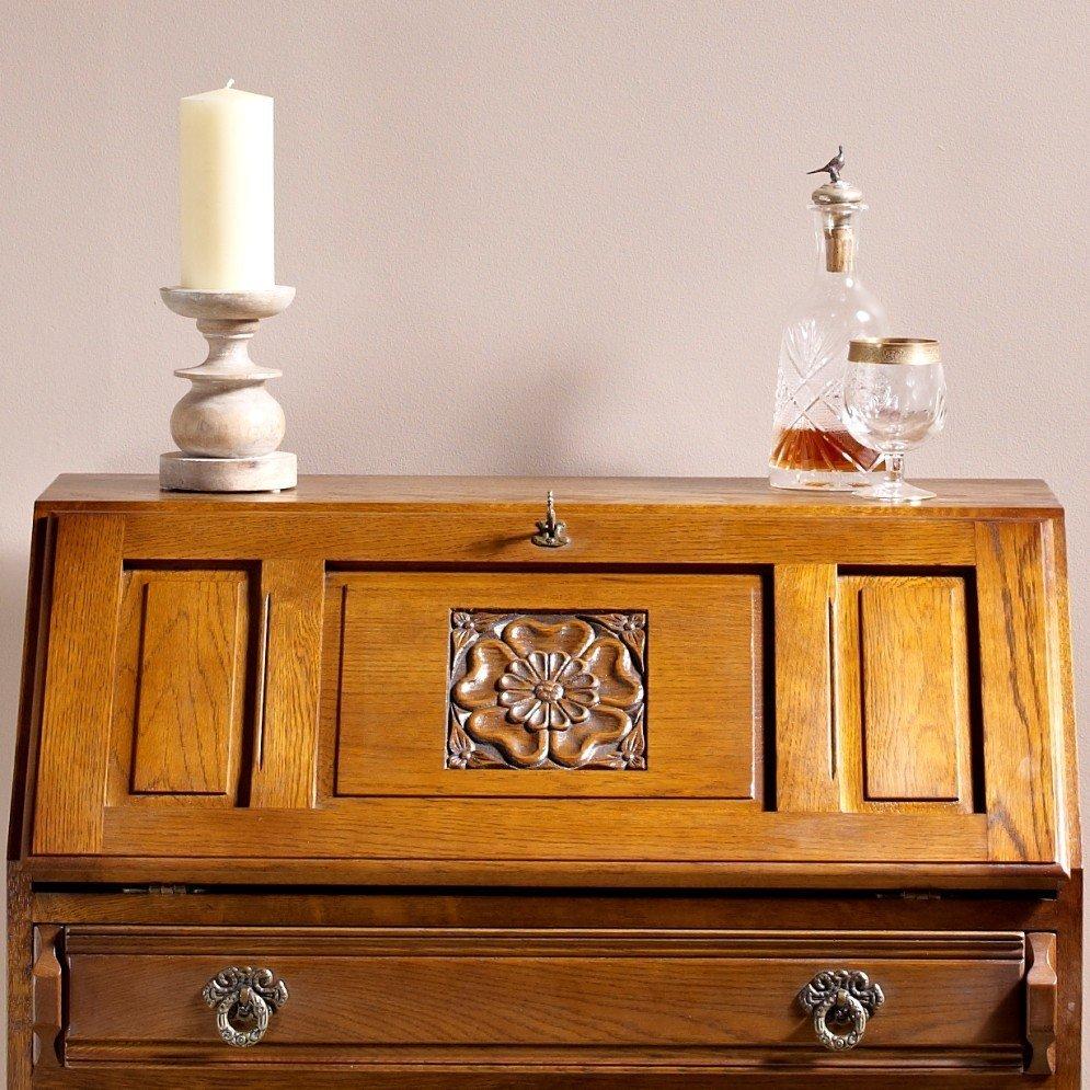 wood bros rose bureau choice furniture. Black Bedroom Furniture Sets. Home Design Ideas