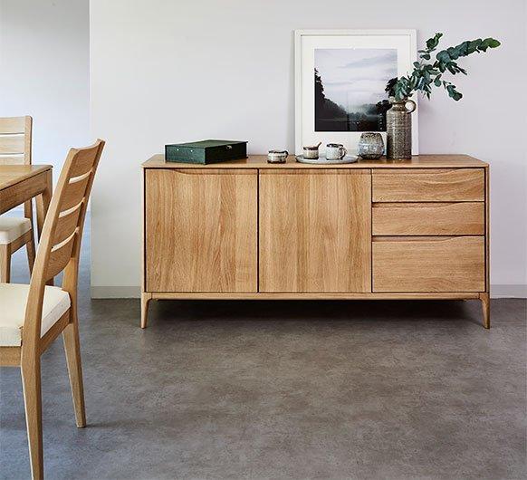 Ercol Romana Large Sideboard Choice Furniture