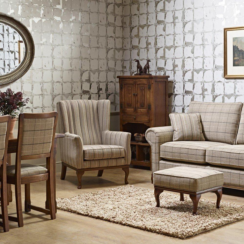 blakeney_armchair_lavenham_medium_sofa_in_wentworth_check_living_dining_shot