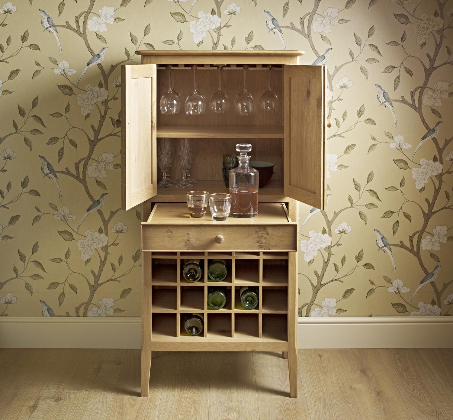 Drinks Cabinet Open Small Choice Furniture