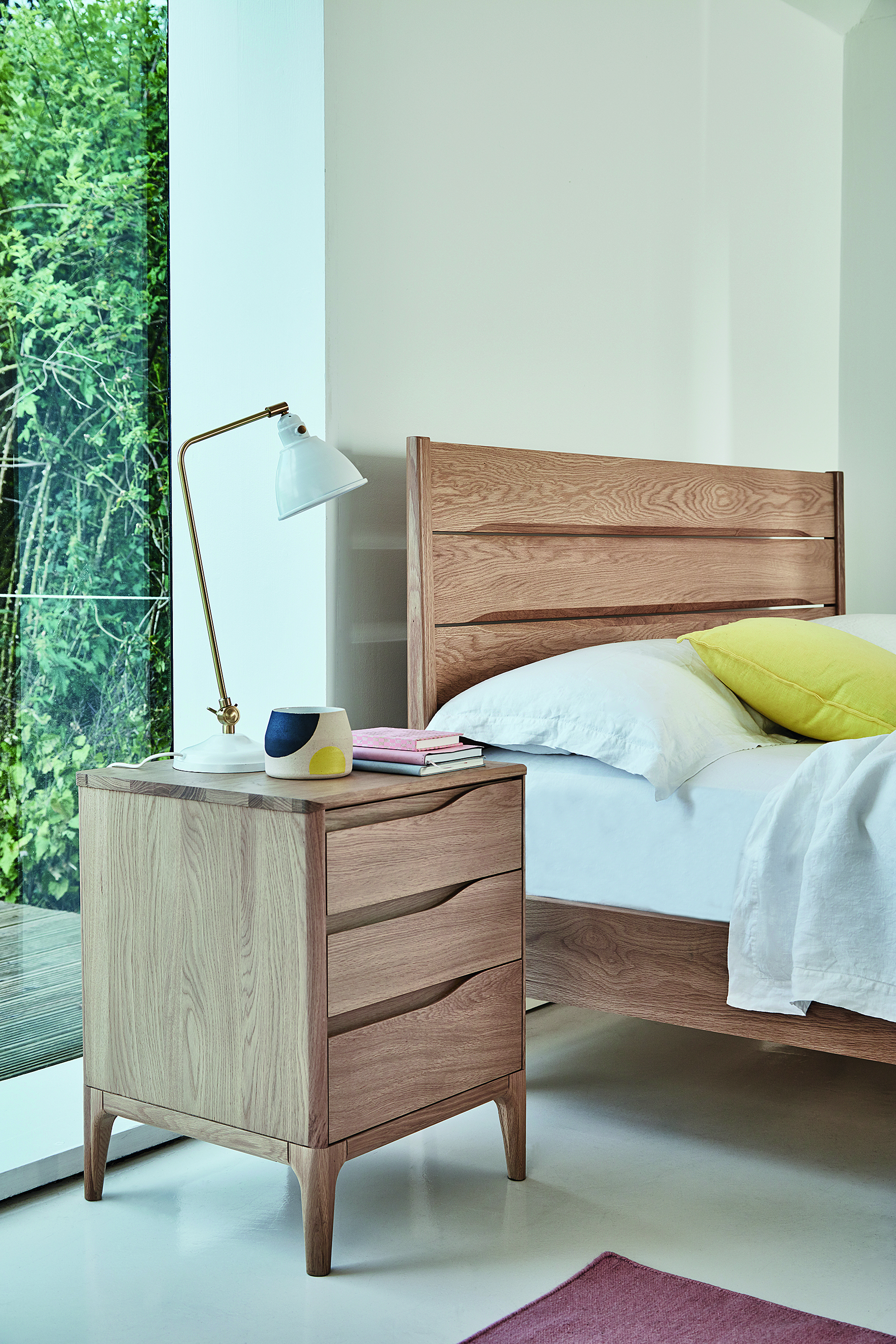 Ercol Rimini 4 Drawer Low Wide Chest Choice Furniture