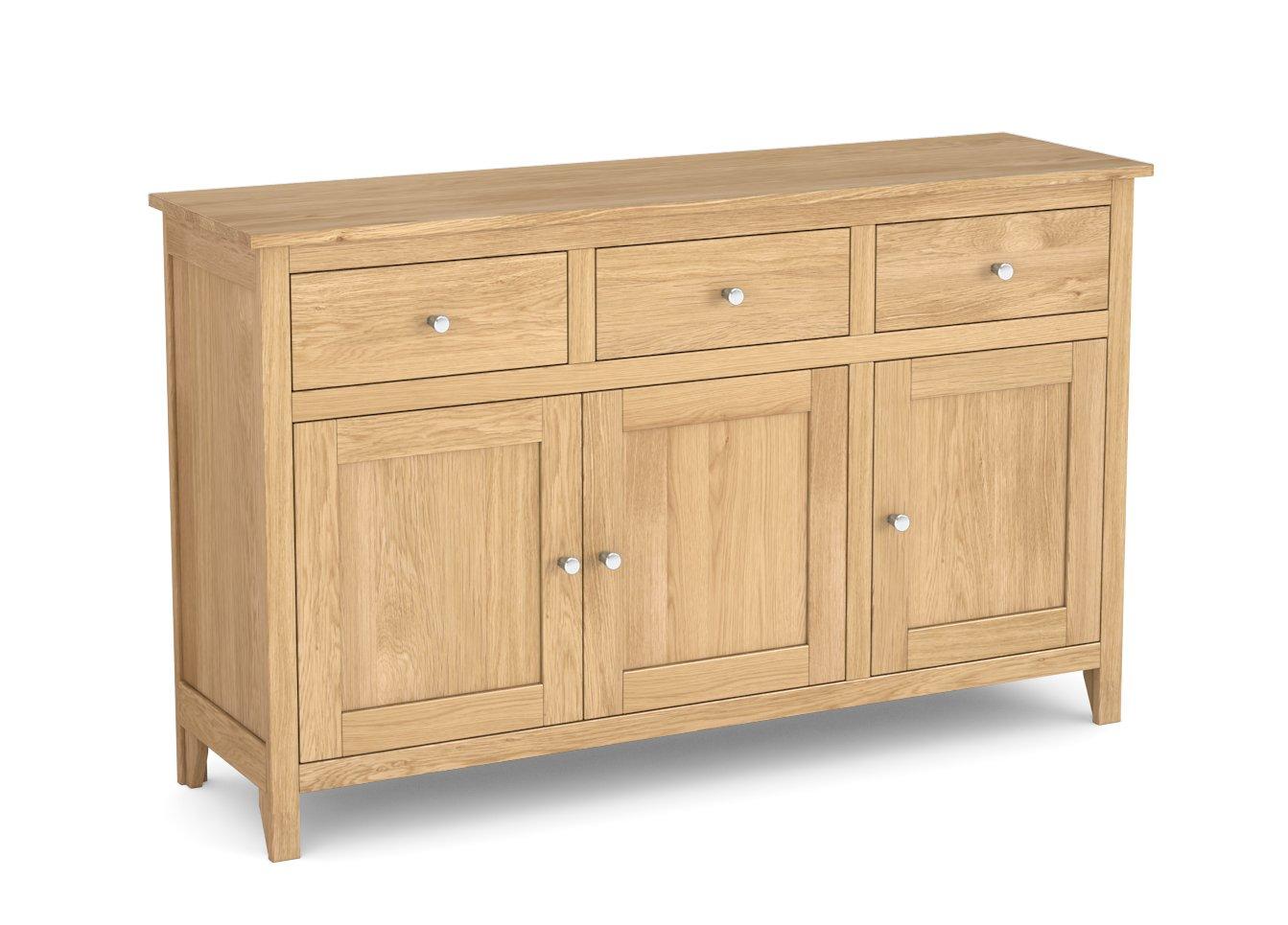 Nimbus 3 Drawer 3 Door Sideboard Choice Furniture